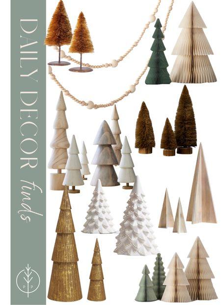Holiday decor, Christmas trees, mantle decor    #LTKSeasonal #LTKhome #LTKHoliday