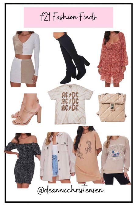 Forever 21 Fashion Finds   #LTKshoecrush #LTKstyletip #LTKSeasonal