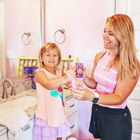 Making brushing kids' teeth fun and even better thanks to Burst Kids toothbrush!   #toothbrush #burstkids #oralcare #kidsproducts #sonictoothbrush  #LTKkids #LTKfamily