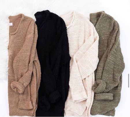 Super cute sweaters!   Sweaters, fall sweaters, cozy sweaters, fall outfits, brown sweater, white sweater, olive green sweater, black sweater, fall inspo, fall clothes  #LTKunder50 #LTKstyletip #LTKsalealert