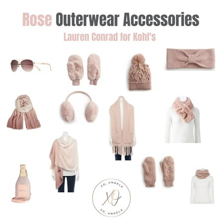 Give me all the rose colored outerwear accessories 💗 Great gifts to give or to keep for yourself. Early Black Friday sale now!  #LTKunder50 #LTKgiftspo #LTKfamily