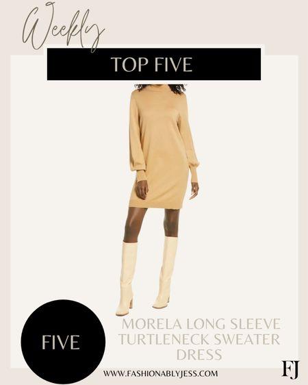 Top 5 #nsale sweater dress, I wear small   #LTKsalealert #LTKunder50 #LTKunder100