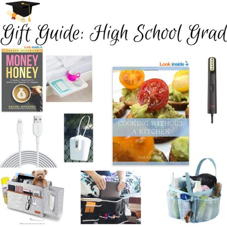 🎓🎉GRADUATION GIFTS!  These are specifically great gifts for the high school grad.  Girls and guys alike can all use them!  I lived in a dorm for 8 years (high school + college) so this is an area I'm pretty well-versed in.  I'll be adding more graduation gift guides, and another for the college grads, so stick around!  http://liketk.it/3ftw7  . A cookbook that's dorm-friendly, written by yours truly. Tried and true recipes that are inspired by recipes I made in the dorms!  -A cookbook that's dorm-friendly, written by yours truly. Tried and true recipes that are inspired by recipes I made in the dorms! -A book explaining personal finance in a way young folks (and any age) can understand -A bath caddy -A steamer (most compact for dorm) -Bedside caddy -Bed Shelf -Dorm Safe -LONG phone charger -bedside caddy -A book explaining personal finance in a language that makes it easy to understand (written for all ages, really, but fabulous for young people)  . . #graduation  #liketkit #ltkgifts #LTKunder50 #LTKfamily #LTKkids @liketoknow.it @liketoknow.it.family @liketoknow.it.home @liketoknow.it.europe @liketoknow.it.brasil Download the LIKEtoKNOW.it shopping app to shop this pic via screenshot #graduationgifts #graduationgiftsforguys #graduationgiftsforgirls #seniors2021 #moneyhoney #dormmusthaves #target #bedbathandbeyond #walmart   Graduation Graduation giftGraduation gift for boys Graduation gifts for boys Graduation gift for guys Graduation gifts for guys Graduation gift for girls  Graduation gifts for girls Cooking Without a Kitchen Sarah Siems Bathroom Caddy Sunglasses Seniors 2021 Seniors  Money honey Rachel Richards  Bedside shelf Dorm must haves  Dorm life Target Bed bath and beyond Walmart