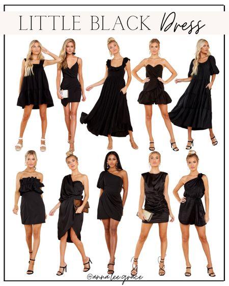 Little Black Dress, wedding guest dress, fall wedding   #LTKstyletip #LTKwedding   #LTKunder100