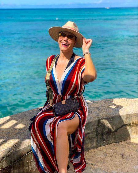 Shop this #beachstyle 👉 http://liketk.it/3jTUa or Shop your screenshot of this pic with the LIKEtoKNOW.it shopping app @liketoknow.it #liketkit #LTKtravel #LTKswim #LTKunder100 #swimwear #beachvacation #beachvacationstyle #onepiecebathingauit #amazonfinds