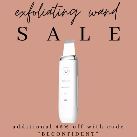 """my favorite skin care tool! It's ALWAYS out of stock!!! don't forget the 45% off with code """"BECONFIDENT"""" !!!     #LTKstyletip #LTKbeauty #LTKsalealert"""