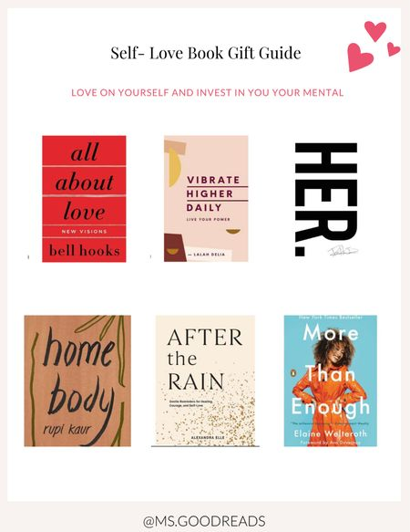 Self Love Books   #LTKunder50 #LTKVDay
