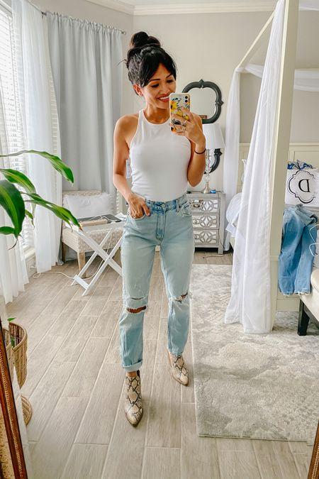 Abercrombie high rise mom jeans http://liketk.it/2XDZn #liketkit @liketoknow.it #LTKsalealert #LTKunder100 #LTKshoecrush