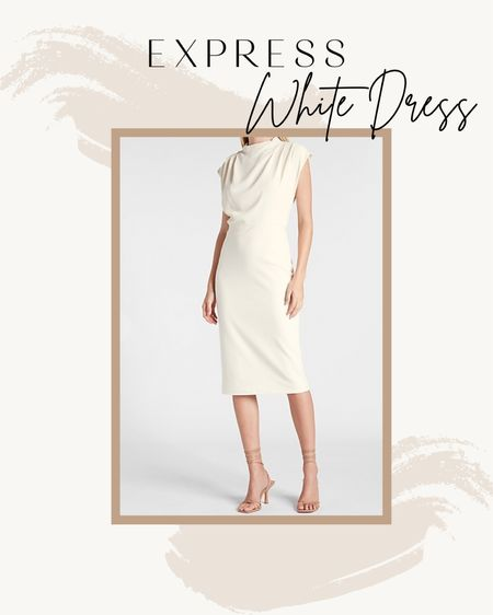 Express White Dress for Work!   #LTKsalealert #LTKstyletip #LTKSale