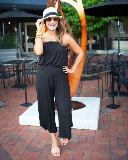 Black jumpsuit from @walmart for summer http://liketk.it/3j3Hr #liketkit @liketoknow.it