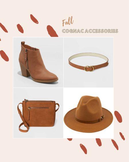Cognac Accessories for fall, cognac boots, cognac bag, cognac belt, fall accessories, cognac hat, fall hat, Amazon hat, target finds, target bag, target boots, fall boots.   http://liketk.it/2Xqhd #liketkit #LTKshoecrush #LTKitbag #LTKstyletip #ltkfall @liketoknow.it