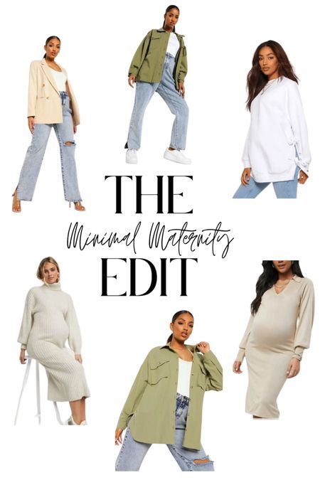 Minimal & Neutral Maternity   #LTKbump #LTKbaby #LTKstyletip