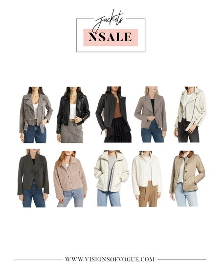 My favorite lightweight jackets including the Blank NYC suede jacket and a few fuzzy zip ups for fall and winter from the Nordstrom Anniversary Sale (NSALE)!   #LTKsalealert #LTKstyletip #LTKunder100