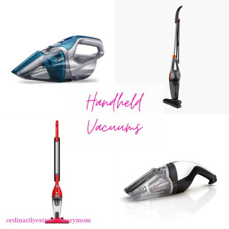 Handheld vacuums for couches, cars, and window sills   #LTKunder100 #LTKhome #LTKtravel