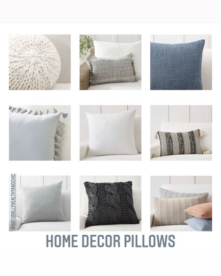 Home decor pillows from one of my favorite stores ! Love all the cute decor they have and the designs ...and some are on sale!! They also sell covers as well. Great way to refresh your living room in a simple way. #LTKsalealert #LTKhome #LTKunder50 #liketkit @liketoknow.it.home @liketoknow.it.family @liketoknow.it Shop your screenshot of this pic with the LIKEtoKNOW.it shopping app http://liketk.it/3d06B