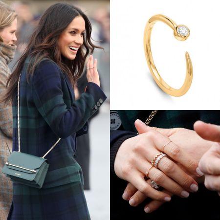 Meghan wearing Missoma interstellar ring   #LTKGiftGuide #LTKunder100