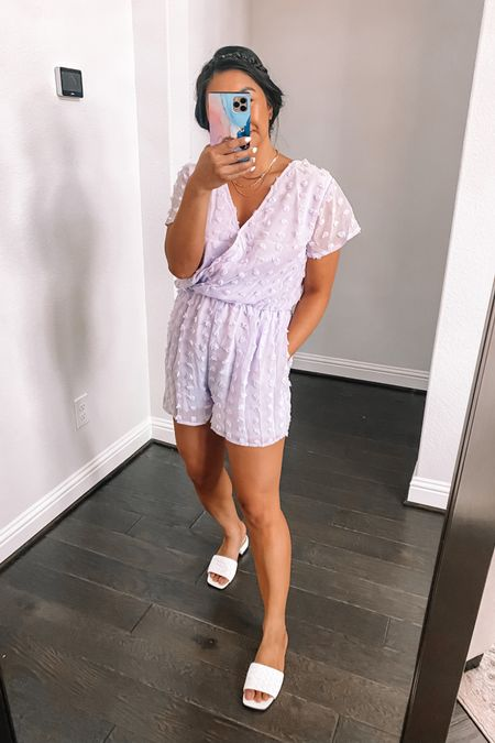 This cute romper comes in like 13 colors! Wearing a medium @liketoknow.it #liketkit http://liketk.it/3idVq #LTKunder50 #amazonfashion
