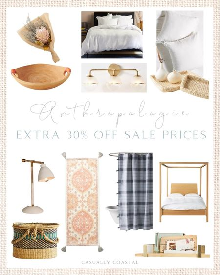 Take an extra 30% off all sale items at Anthropologie this weekend only! Discount will be applied in your cart! -  home decor, decor under 50, home decor under $50, fall decor, fall decorations, fall home decorations, coastal decor, beach house decor, beach decor, beach style, coastal home, coastal home decor, coastal decorating, coastal interiors, coastal house decor, home accessories decor, coastal accessories, beach style, blue and white home, blue and white decor, neutral home decor, neutral home, natural home decor  #LTKsalealert #LTKhome #LTKunder100
