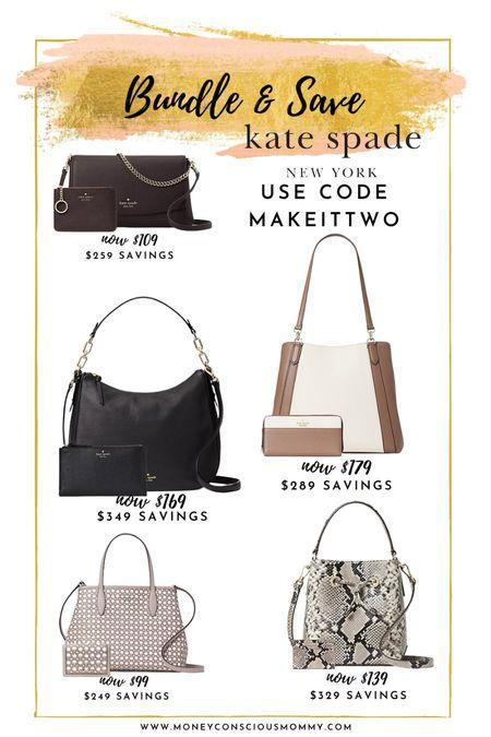 Bundle & Save at Kate Spade!  crossbody | handbag | clutch | tote   #LTKsalealert #LTKitbag #LTKstyletip