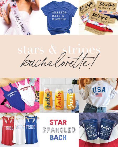STAR SPANGLED BACHELORETTE! 💋🇺🇸🍻☀️🌊  #LTKSeasonal #LTKswim #LTKwedding