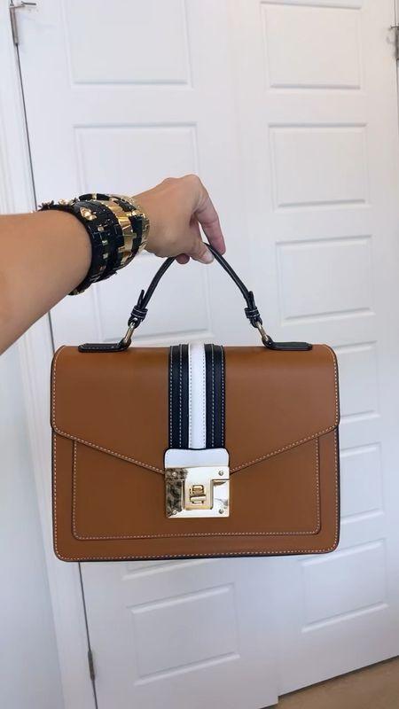 perfect bag // black & camel makes it super versatile   #LTKstyletip #LTKitbag #LTKunder50