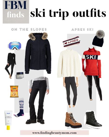 Ski trip, ski gear, apres ski, winter vacation, snow pants, parka, Aspen, Jackson hole, boots  #LTKGiftGuide #LTKSeasonal #LTKHoliday