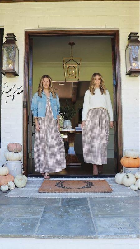 Fall dress two ways   #LTKunder100 #LTKSeasonal #LTKstyletip