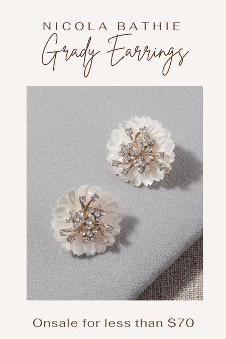 Anthropologie accessories. Pearl earrings. Everyday earrings. Wedding jewelry. Bridal jewelry. Bridesmaid jewelry.   #LTKwedding #LTKsalealert #LTKunder100