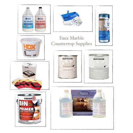 Countertop Supply List http://liketk.it/37Fts #liketkit @liketoknow.it #LTKunder50 #LTKunder100 #LTKhome
