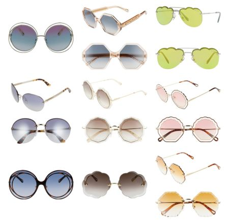 Chloe sunglasses on sale and under $80    #LTKunder100 #LTKsalealert #LTKSeasonal