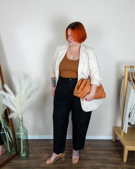 The outfit addition to my capsule this week sticks with some favorite silhouettes- a blazer and pleated trousers.  http://liketk.it/3cNPl #liketkit @liketoknow.it