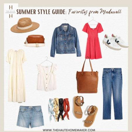 #liketkit @liketoknow.it http://liketk.it/3hlQO  Summer essentials from Madewell!  I've put togther this mini summer capsule to help you fill your wardrobe with great staple pieces you can wear & pair easily together all summer long! #LTKDay #LTKunder100 #LTKunder50