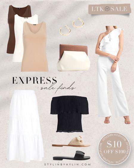 LTK DAY SALE- $10 OFF $100- USE LINKS HERE TO RECEIVE SALE DISCOUNT CODE- summer outfits, summer neutrals, summer wardrobe staples, bodysuit, vacation outfits,  StylinbyAylin @liketoknow.it #liketkit http://liketk.it/3hhYX   #LTKDay #LTKsalealert #LTKunder50