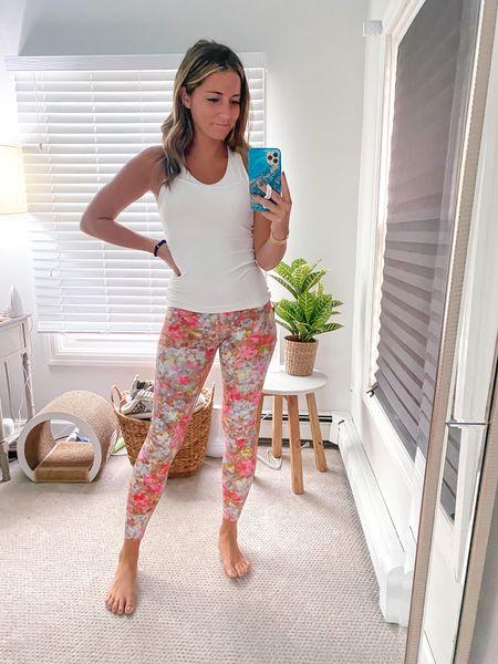 Lulu lemon leggings on sale still! I wear size 6   #LTKsalealert #LTKunder50 #LTKunder100