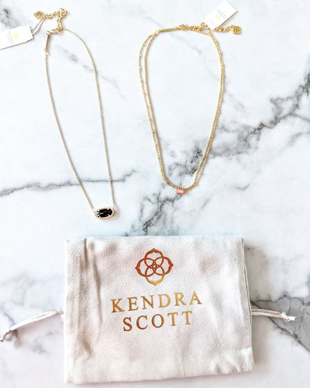 Kendra Scott Elisa Necklace in black opaque Glass, Emilie multi strand necklace. 20% off pastels! Get 50% off in your birthday month! Gold necklace, layered necklace, spring look, jewelry. http://liketk.it/3bTIF @liketoknow.it #liketkit #LTKsalealert #LTKunder50 #LTKunder100 #LTKbeauty #LTKstyletip #LTKwedding #LTKworkwear