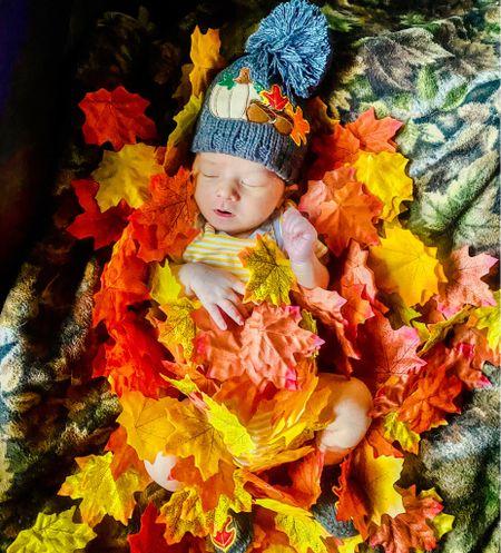 Fall leaves Fall baby Newborn   #LTKSeasonal #LTKbaby #LTKfamily
