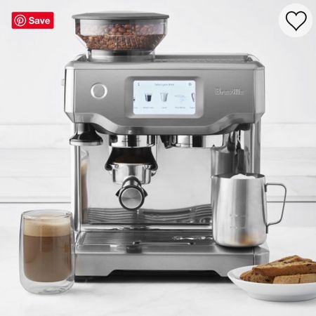 Breville Espresso Machine Sale- another $200 has been knocked off the already sale price! 😍 if you've been eyeing it, NOW is the time! Limited time only sale- I linked two other similar options as well! Links on my LIKEtoKNOW.it     #coffee #coffee #coffeelover #starbucks #mamaneedscoffee #momlife #breville #williamssonoma #coffeeaddict #latte #espresso #sale #salealert #kitchen #wishlist #mothersday #giftguide #gift #wfh #workfromhome #LTKMothersDay #StayHomeWithLTK #LTKsalealert #ltkhome #liketkit @liketoknow.it http://liketk.it/2O4t2