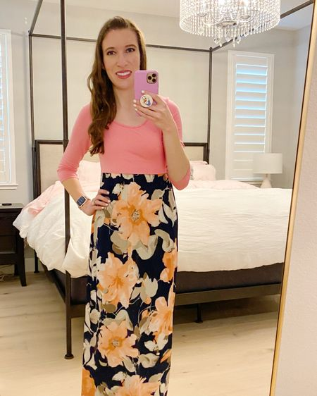 Let's start a trend: Easter at Home #EasterAtHome Love my Pink Lily maxi dress!  http://liketk.it/2MfWp #liketkit @liketoknow.it