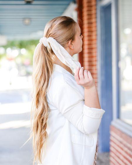 Hair scarfs    http://liketk.it/2EPCu #liketkit @liketoknow.it #LTKsalealert #LTKunder50 #LTKstyletip #LTKworkwear #LTKtravel