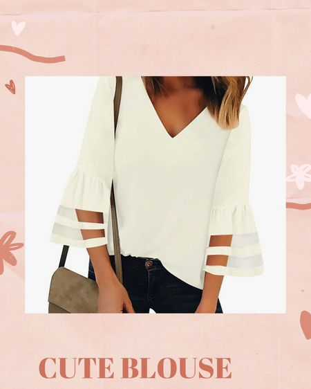 Loving this super cute blouse. Perfect for spring! http://liketk.it/3bd77 #liketkit @liketoknow.it #LTKunder50 Shop your screenshot of this pic with the LIKEtoKNOW.it shopping app