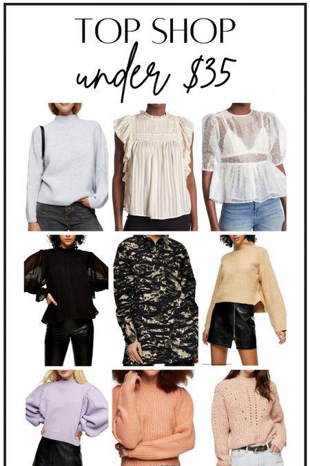 Top Shop under $35?#thedailydupes  #LTKSeasonal #LTKunder50 #LTKstyletip