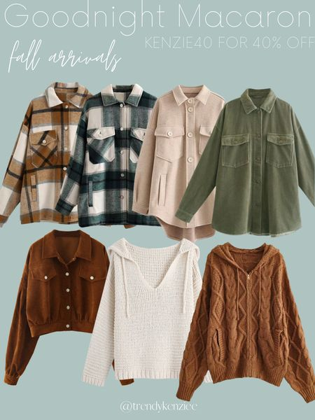 Shacket / Shackets / Fall Style / Fall Fashion  #LTKunder100 #LTKsalealert #LTKSeasonal
