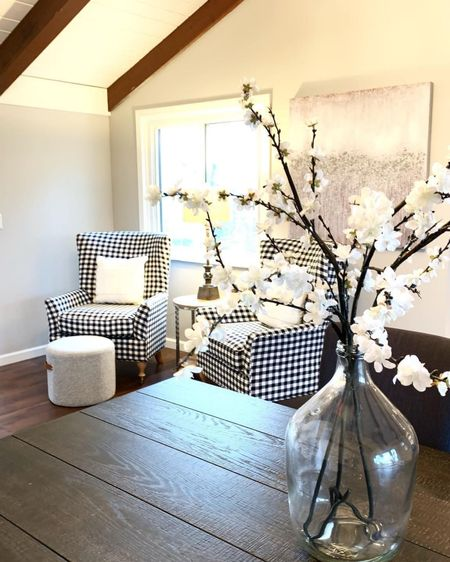 What a great cozy little sitting room!! Checker chairs definitely completes this room!! http://liketk.it/2RKap #liketkit @liketoknow.it #StayHomeWithLTK #LTKhome @liketoknow.it.home Follow me on the LIKEtoKNOW.it shopping app to get the product details for this look and others