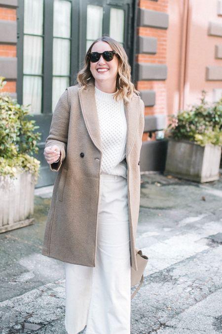 J.Crew Daphne wool coat on sale! Wearing size 6   #LTKSeasonal #LTKsalealert