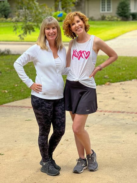 Workout skirt, workout tank, workout sneakers, workout look  Joined my friend Dr. Jill Grimes, author of The Ultimate College Student Health Handbook, for a long walk & talk this morning! Here are the links for my look!  #LTKfit #LTKstyletip #LTKunder50