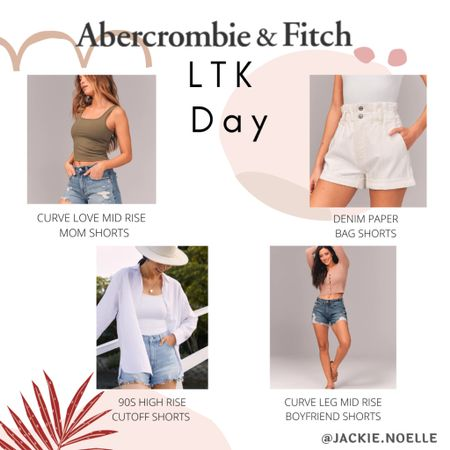 Having a hard time finding shorts that fit and look cute? I always have such a problem but Abercrombie has the best shorts ever! Perfect fit and so many styles! Get yours on sale this LTK day! You can instantly shop my looks by following me on the LIKEtoKNOW.it shopping app @liketoknow.it #liketkit #LTKDay #LTKsalealert #LTKstyletip http://liketk.it/3hkU8