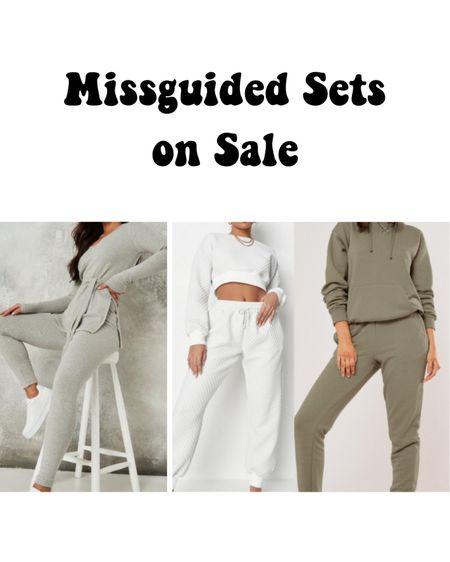Missguided matching sets on sale! http://liketk.it/3hVVo #liketkit @liketoknow.it #LTKunder50 #LTKsalealert #LTKtravel comfortable cozy matching sets