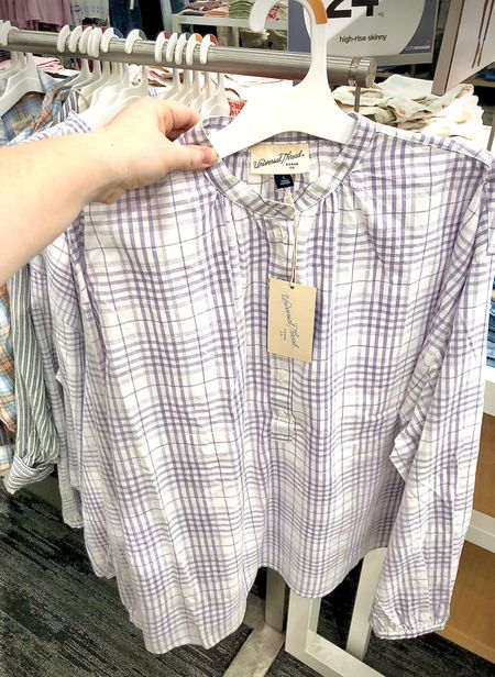This billowy blouse looked so comfy and nursing friendly too!  #LTKstyletip #LTKunder50 #LTKSeasonal