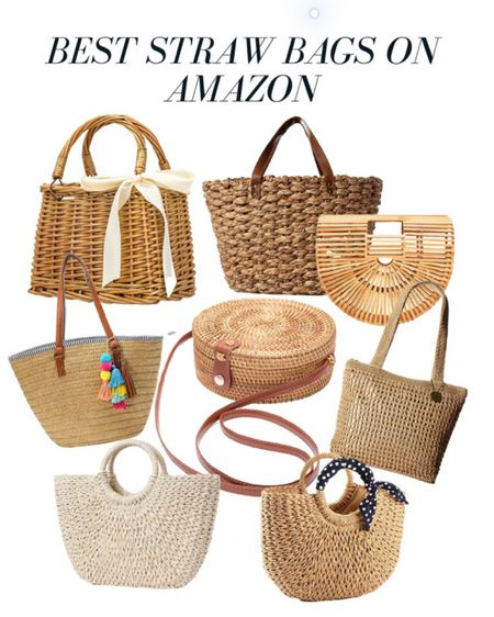 The best straw bags and straw purses on Amazon! These great amazon deals are perfect for upcoming summer outfits. Amazon fashion does a pretty good job for sourcing these designer bag dupes! Shop them here: http://liketk.it/2P3eV   #liketkit @liketoknow.it #StayHomeWithLTK #LTKitbag    Follow me on the LIKEtoKNOW.it shopping app to get the product details for this look and others