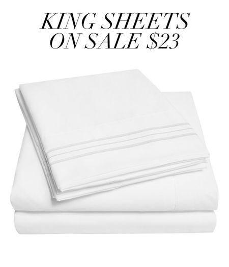 Walmart king size sheets  #laurabeverlin  #LTKsalealert #LTKhome #LTKunder50